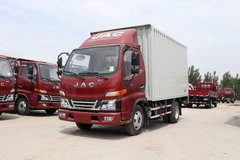 江淮 骏铃V3 109马力 4.15米单排厢式轻卡(HFC5041XXYP93K1C2V-1) 卡车图片