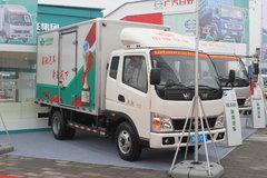奥驰D1系列 95马力 4X2 3.9米排半厢式轻卡(FD5041XXYP12K4) 卡车图片