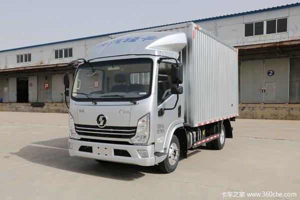 陕汽轻卡 德龙K3000 舒适型 130马力 4.18米单排厢式轻卡