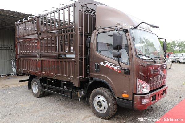 新车到店 巴彦淖尔市J6F载货车仅需11.5万元