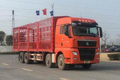 中国重汽 汕德卡SITRAK G7重卡 440马力 8X4 9.52米畜禽仓栅式载货车(ZZ5316CCQV466HE1) 卡车图片