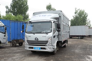 陕汽轻卡 德龙K3000 标载版 160马力 4.18米单排仓栅式轻卡