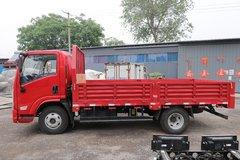 陕汽轻卡 德龙K3000 130马力 4.18米单排栏板轻卡(国六)(YTQ1041KH331)