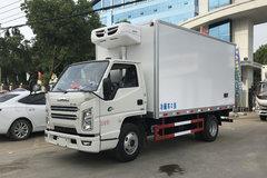 江铃 顺达窄体 129马力 4X2 4.15米冷藏车(程力威牌)(CLW5043XLCJ6)