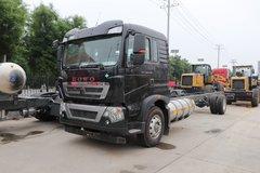 中国重汽 HOWO TX5 290马力 4X2 9.52米LNG厢式载货车(国六)(ZZ5187XXYN711GF1L)