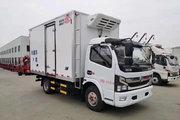 东风 多利卡D6 115马力 4X2 4米冷藏车(全柴)(EQ5041XLC8BDBAC)