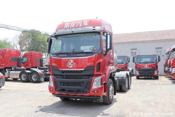 东风柳汽 乘龙H5重卡 400马力 6X4 LNG牵引车(国六)
