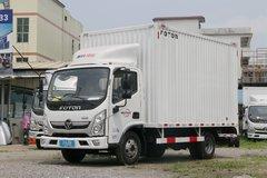 福田 奥铃新捷运 青春版 130马力 4.14米单排厢式轻卡(BJ5048XXY-F4)