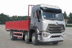 中国重汽 豪瀚N5W重卡 220马力 6X2 9.6米栏板载货车(ZZ1255M56C3E1) 卡车图片