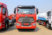 中国重汽 豪瀚N7W重卡 400马力 8X4 9.5米栏板载货车(ZZ1315N4666E1)