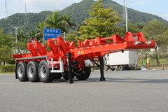 中集 20尺三轴卷钢铁运输车