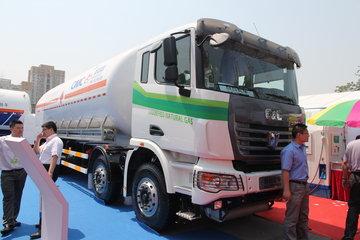 联合卡车U340 340马力 8X4 LNG运输车(SQR1311N6T6-E)