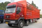 东风柳汽 乘龙609中卡 220马力 6X2 9.6米仓栅载货车(LZ5250CSRCS)