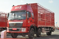 福田 瑞沃ADX 科技版 190马力 6X2 8.6米仓栅载货车(BJ5248VLCHH-2) 卡车图片