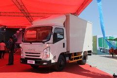 江铃 凯锐800 豪华款 122马力 3.5米单排厢式轻卡(JX5057XXYXBD2) 卡车图片