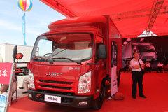 江铃 凯锐800 豪华款 122马力 4.1米单排厢式轻卡(JX5067XXYXG2) 卡车图片
