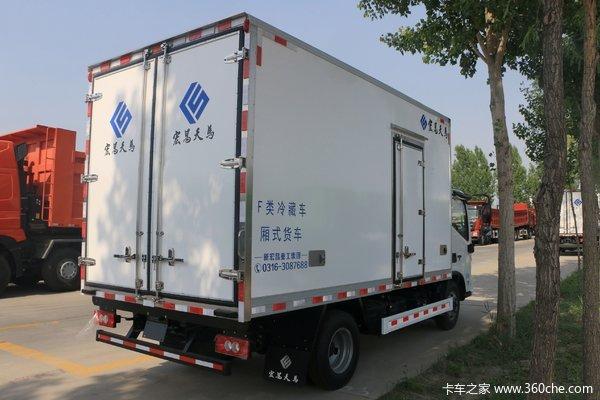 奥铃速运冷藏车成都市火热促销中 让利高达0.3万