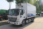 福田 欧马可S3系 143马力 4X2 4.1米冷藏车(宏昌天马牌)(HCL5048XLCBJ5)