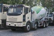 一汽解放 J6L 320马力 8X4 7.96方混凝土搅拌车(宏昌天马牌)(HCL5310GJBCAN29J51)