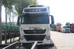 中国重汽 HOWO T7H重卡 430马力 8X4 9.33米冷藏车(宏昌天马牌)(HCL5317XLCZZ6)图片