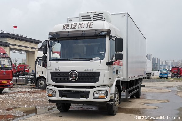 陕汽重卡 德龙L3000 标载版 245马力 6X2 9.7米冷藏车(速比4.625)(SX5250XLCLA549A)