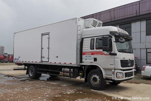 陕汽重卡 德龙L3000 复合版 245马力 4X2 7.8米冷藏车(SX5180XLCLA5712)