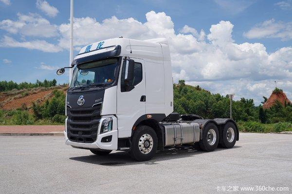 东风柳汽 乘龙H7重卡 3.0版 600马力 6X4 AMT自动挡牵引车(国六)