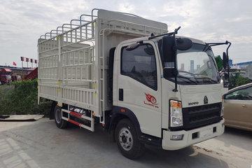 中国重汽HOWO 悍将 110马力 4.15米单排仓栅轻卡(中体)(ZZ5047CCYC3314E145-2)
