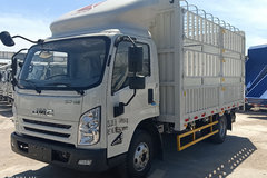 江铃 凯运蓝鲸 152马力 4.12米单排仓栅式轻卡(JX5045CCYTGA25) 卡车图片