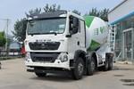 中国重汽 HOWO TX6 340马力 8X4 7.37方混凝土搅拌车(宏昌天马牌)(HCL5317GJBZZN30G5)