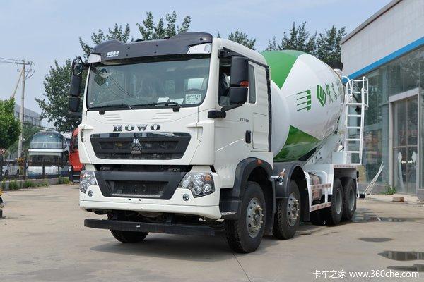 中国重汽 HOWO TX6 340马力 8X4 7.37方混凝土搅拌车(宏昌天马牌)