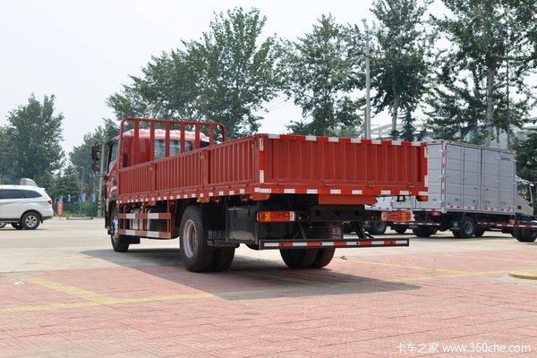 福田 欧航R系 220马力 6.8米排半栏板载货车(国六)(BJ1166VJPFK-1A)