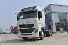 中国重汽 HOWO T7H重卡 440马力 6X4 LNG牵引车(12T后桥)(国六)(ZZ4257V384HF1LB) 卡车图片