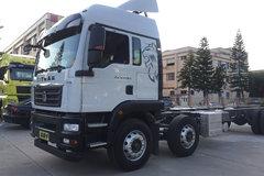 中国重汽 汕德卡SITRAK G5重卡 310马力 6X2 9.52米厢式载货车(ZZ5256XXYN56CGF1) 卡车图片