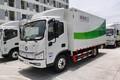 福田 欧马可智蓝 6.66米纯电动密闭式桶装垃圾车(TBL5060XTYBEV)图片