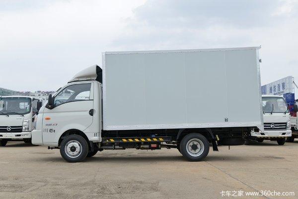 优惠0.3万沛县凯马锐航X3载货车促销中
