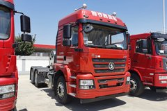 陕汽商用车 轩德X3 轻量化版 460马力 6X4 LNG牵引车(国六)(SX4250MPN384) 卡车图片