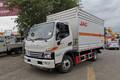 江淮 骏铃V6 130马力 4X2 4.11米气瓶运输车(HFC5080TQPXV3Z)图片