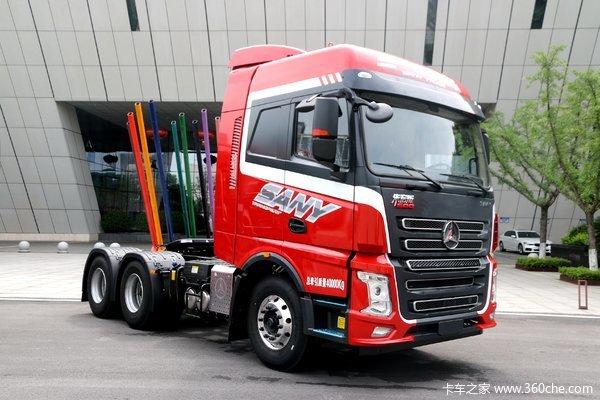 三一集团 朱宏版 500马力 6X4牵引车