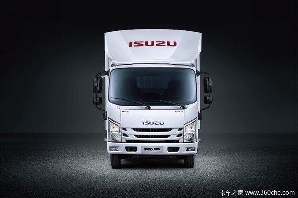 江西五十铃 翼放ES7 旗舰版 170马力 4.2米单排厢式轻卡(国六)(液刹)