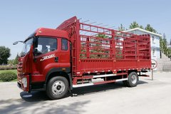 青岛解放 JK6中卡 240马力 4X2 6.75米仓栅式载货车(CA5180CCYP28K1L4E5)图片