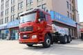 陕汽重卡 德龙新M3000 轻量化版 400马力 6X4 LNG牵引车(低顶)(国六)(SX4259MD4TLQ1)图片
