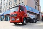 陕汽重卡 德龙新M3000 轻量化版 400马力 6X4 LNG牵引车(低顶)(国六)(SX4259MD4TLQ1)