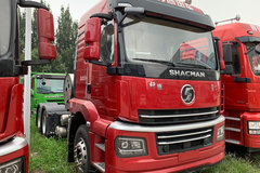 陕汽商用车 轩德翼3 轻量化版 400马力 6X4 LNG牵引车(国六)(SX4250MPN384) 卡车图片