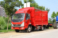 现代商用车 泓图300 143马力 4.18米单排仓栅式轻卡(CNJ5040CCYZDB33V) 卡车图片