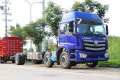 福田 欧曼新ETX 6系重卡 245马力 6X2 8米仓栅式载货车(速比4.444)(BJ5253CCY-AB) 卡车图片