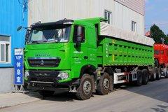 中国重汽 HOWO T7H重卡 480马力 8X4 8.5米自卸车(ZZ3317V466HE1) 卡车图片