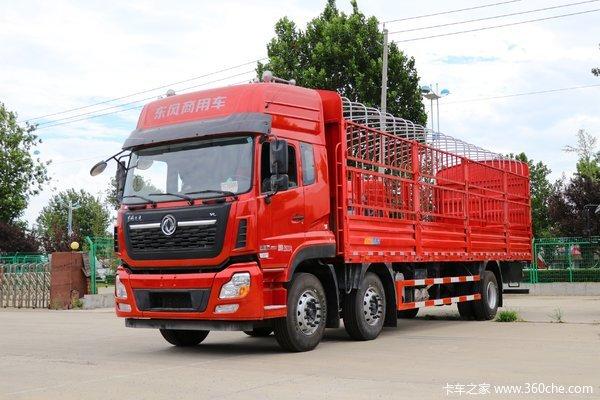 东风商用车 天龙VL重卡 轻赢版 292马力 6X2 8.6米仓栅式载货车