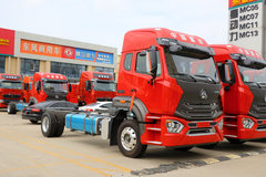 中国重汽 豪瀚N5G中卡 标载版 240马力 4X2 9.7米厢式载货车(ZZ5185XXYN7113E1) 卡车图片