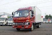 江淮 帅铃E中体 132马力 3.82米排半厢式轻卡(HFC5041XXYP52K3C2V)